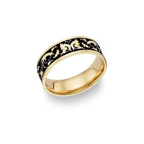 gold 14k gold jewelry antique celtic floral wedding ring 14 karat