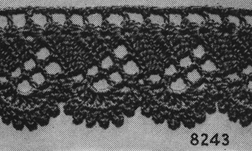 For The Home Edging 8243 Pattern Crochet Edging Patterns