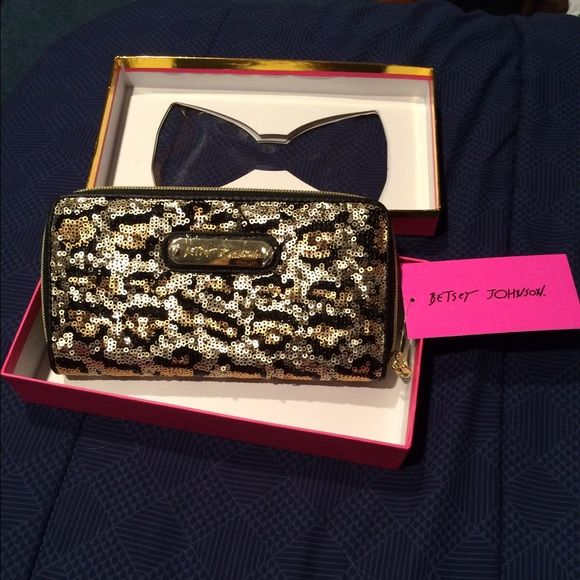 BNWT Betsey Johnson Wallet Brand new with tags Betsey Johnson Bags Wallets