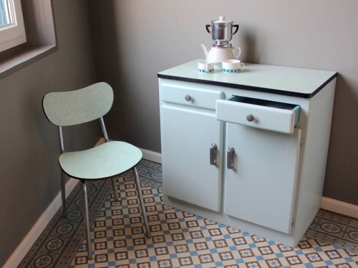 Buffet Formica Vintage. Cool Le Buffet With Cuisine Formica Vintage ...