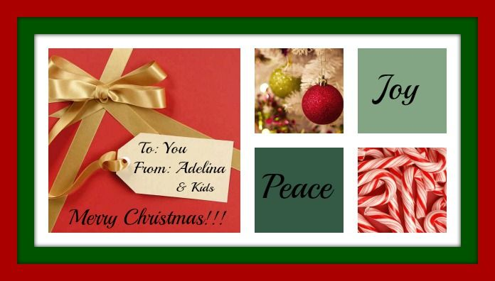 From My Family to Yours….Merry Christmas!