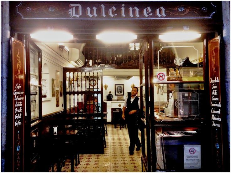 Dulcinea Barcelona - Photos from a walk in Barcelona