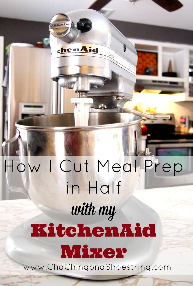 Kitchenaid pink food processor - How I Cut Meal Prep In Half With My Kitchenaid Mixer