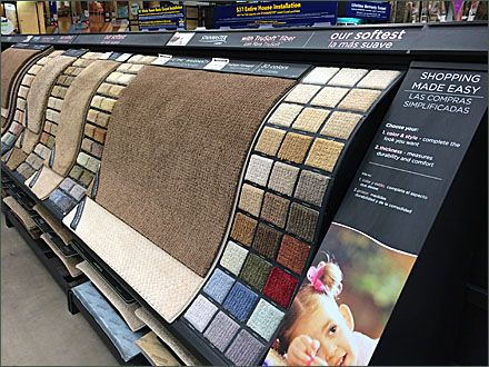 Waterfall Carpet Display Cascades In Store Display Store Fixtures Pos Display