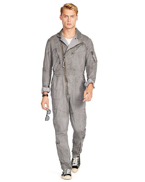 Polo Ralph Lauren - Cotton Twill Flight Suit