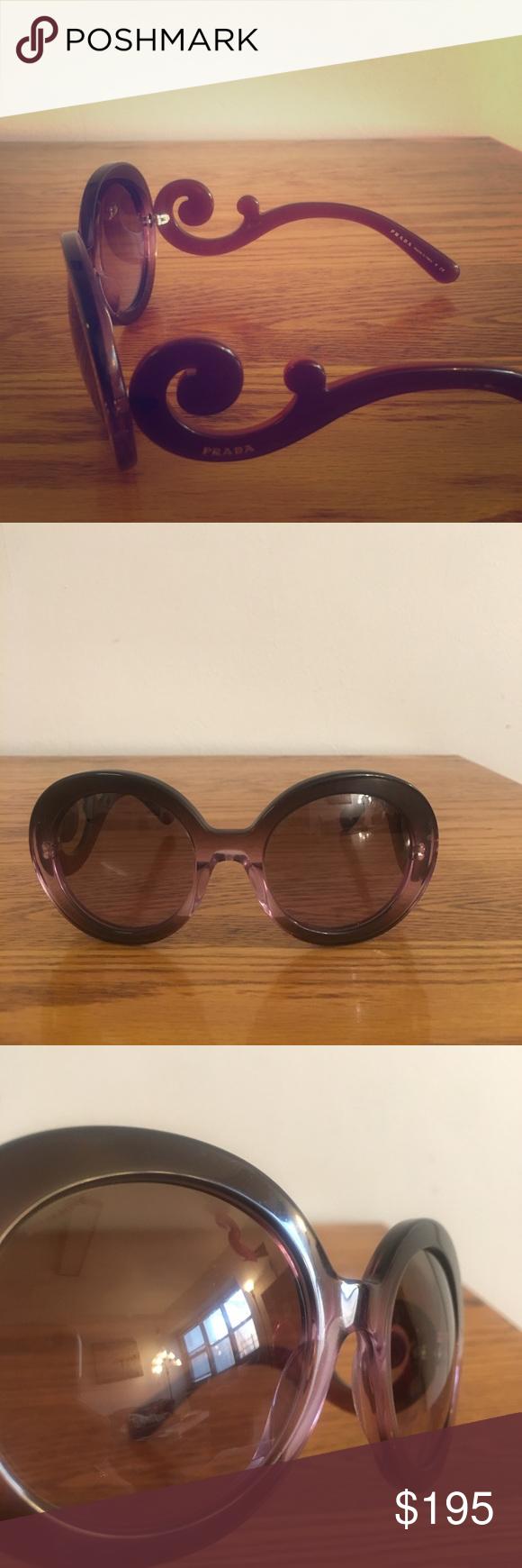 75f988a243e6 ... coupon prada baroque sunglasses these iconic prada baroque sunglasses  are in excellent condition. they are
