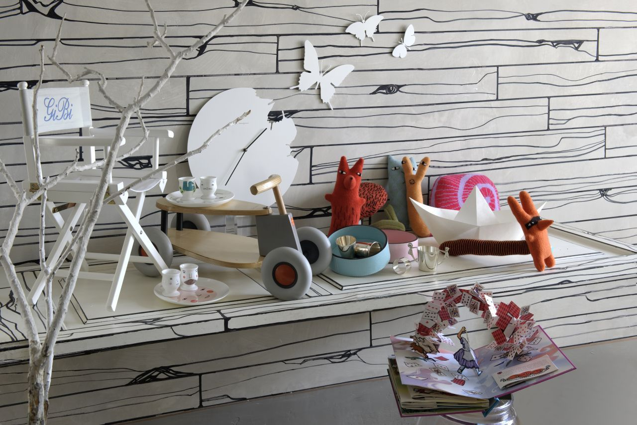 Genial STORES: Furniture And Household Accessories From Via Garibaldi The Interior  Design Store In Central Genoa. The Kidsu0027 Corner: A Wooden Tricycle By  German ...