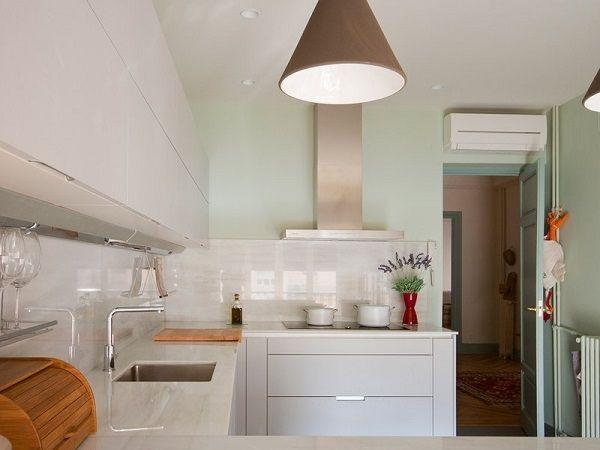 de 50 fotos de decoración de Cocinas Blancas modernas