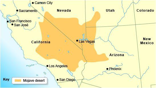 Mojave Desert Map For Shellee   the Mow Jayve desert | Interesting Stuff | Deserts  Mojave Desert Map