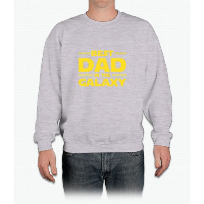 Star Wars - Best Dad in The Galaxy Crewneck Sweatshirt
