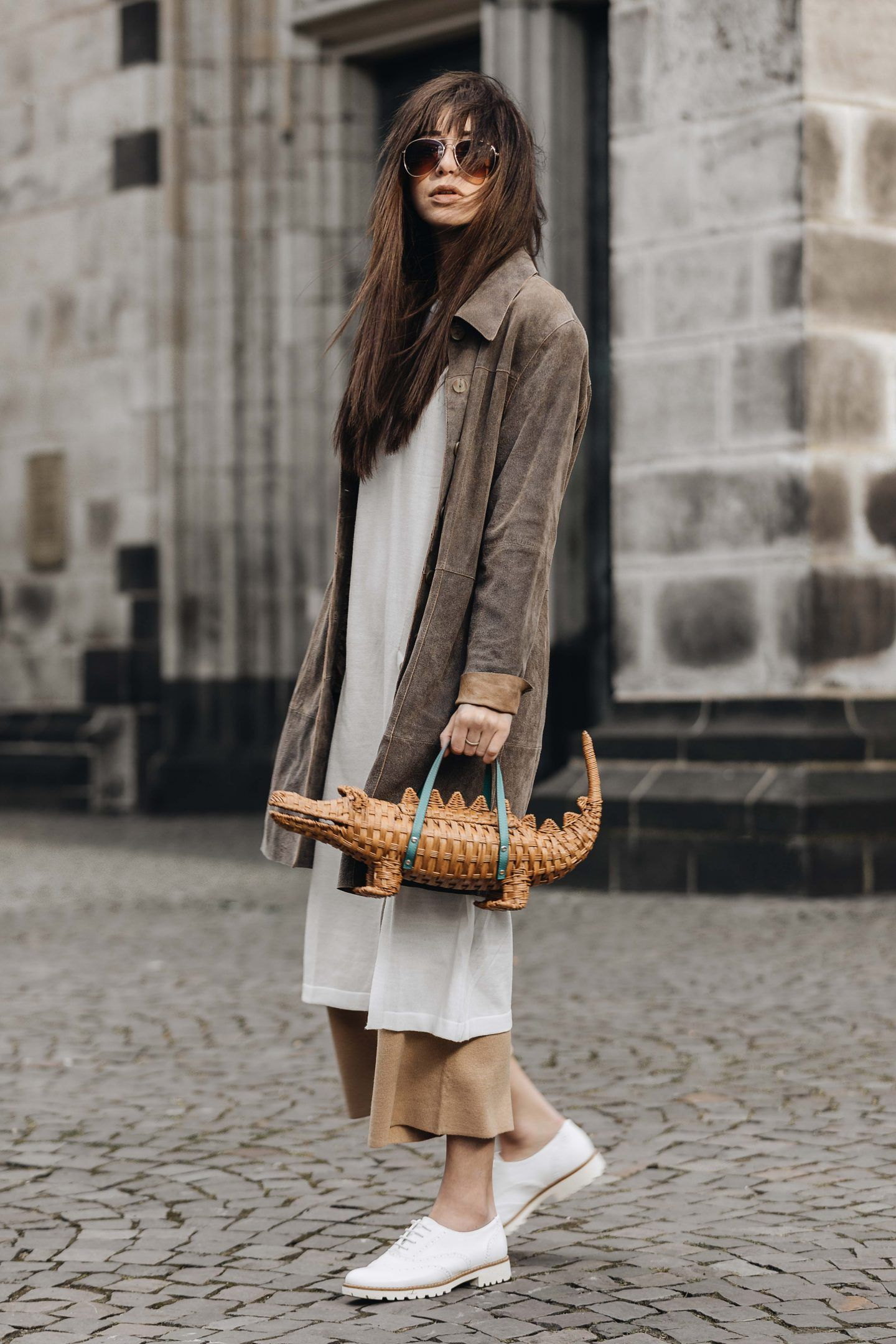 aacb124118de ... Alligator Adoption - Rattan Bag by Kate Spade New York  outfit  style   styleblogger