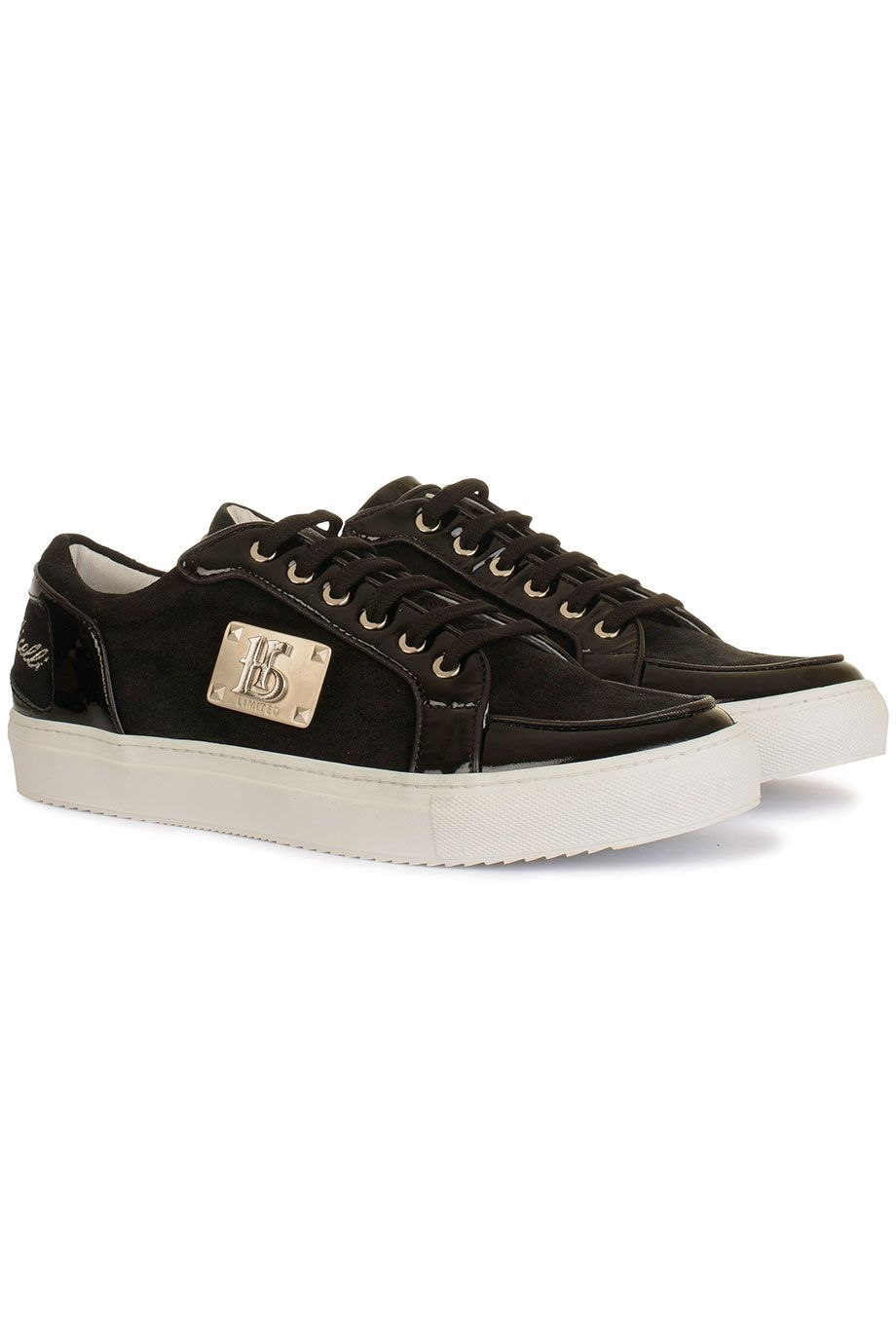 size 40 ddbb4 d7b13 Hippe Botticelli limited limited 26771 nero (zwart) Heren sneakers van het  merk botticelli limited