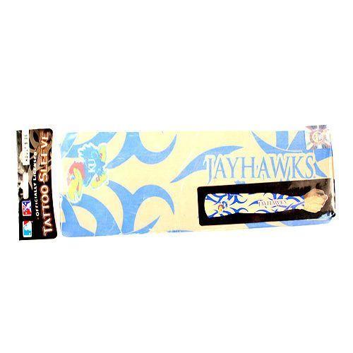 Kansas Jayhawks Authentic Adult Tattoo Arm Sleeve