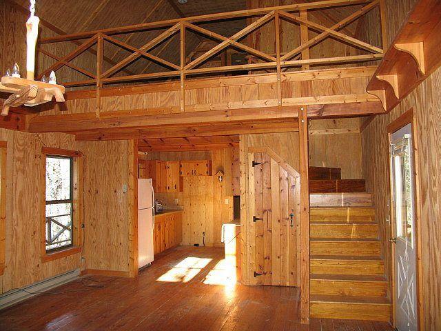 Insulating the floor of a raised floor cabin google for Cabin loft bedroom ideas