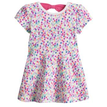 Jumping Beans Confetti Dress - Baby