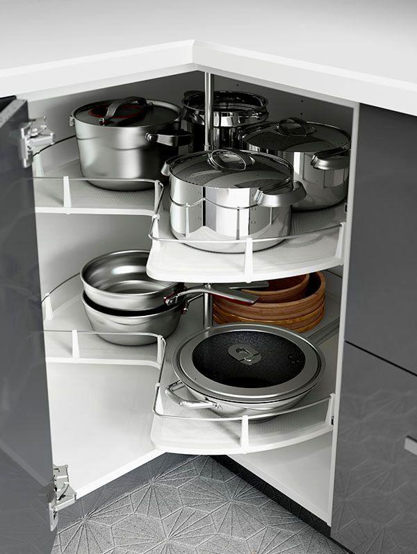 19 Smart Kitchen Storage Ideas That Will Impress You - Homesthetics