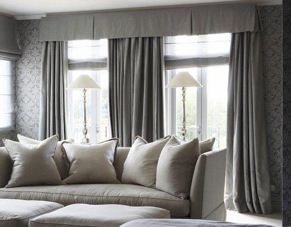 Beautiful Curtain Design Ideas, Modern Valances For Living Room