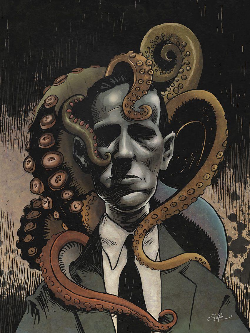 Resultado de imagem para lovecraft ilustração