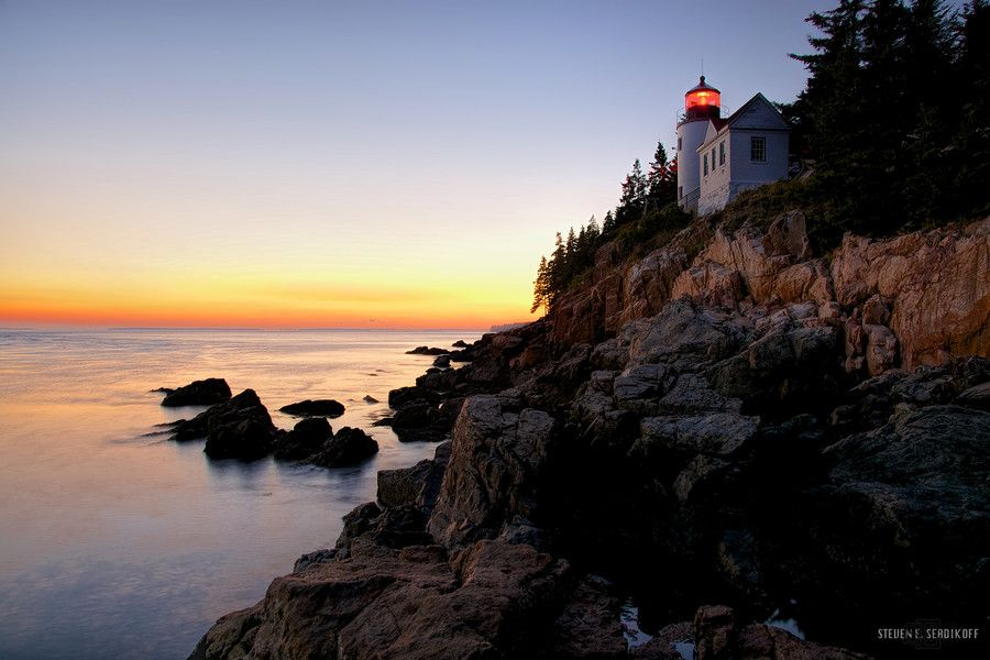 Bass Harbor Head Lighthouse by Steven Serdikoff on 500px
