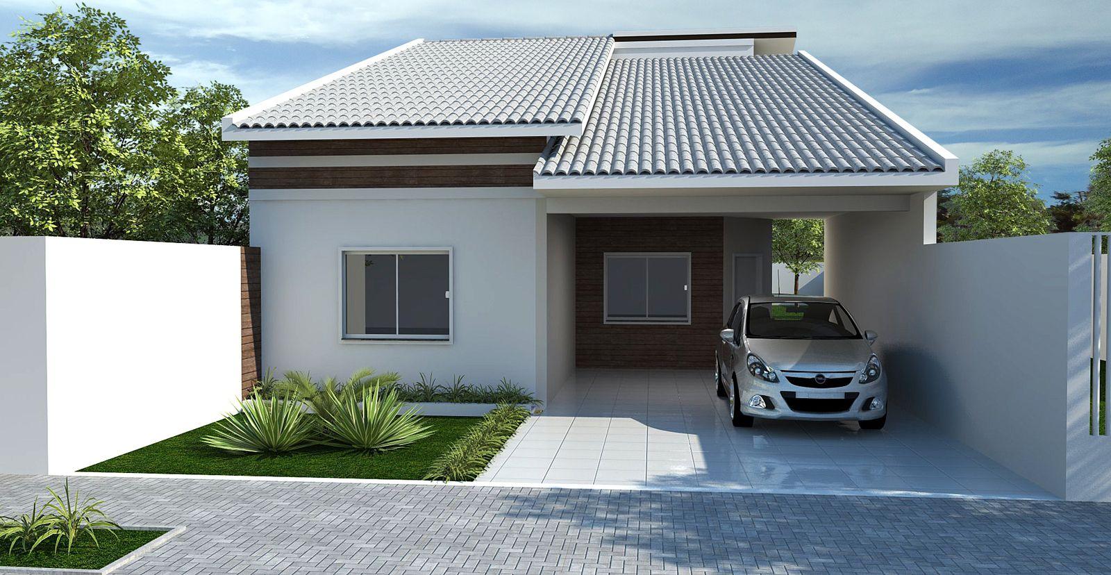 Muito Fotos de telhados casas simples e pequenas | Casas simples  QZ59