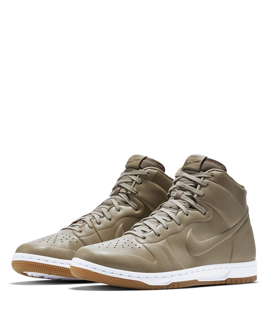 a2ab6189ead3  sneakers  news The Nike Dunk High Goes Completely Seamless With The CRFT  Best Sneakers