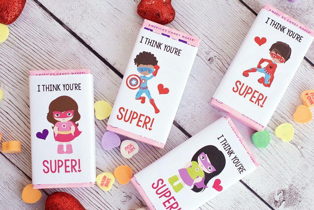 Photo of Superhero Valentines