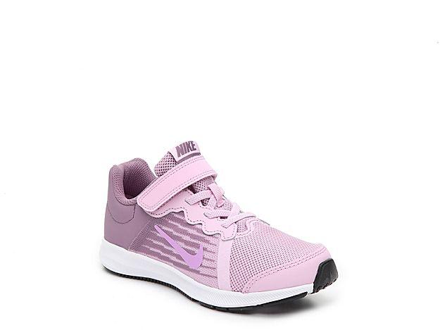 35d94053e Girls Downshifter 8 Toddler & Youth Running Shoe -Purple/Light Pink ...