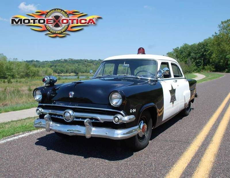 1954 Ford Police Car For Sale in St. Louis, Missouri | Old Car ...