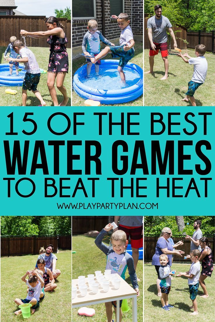 15 of the Most Fun Water Games   Water games for kids, Fun ...
