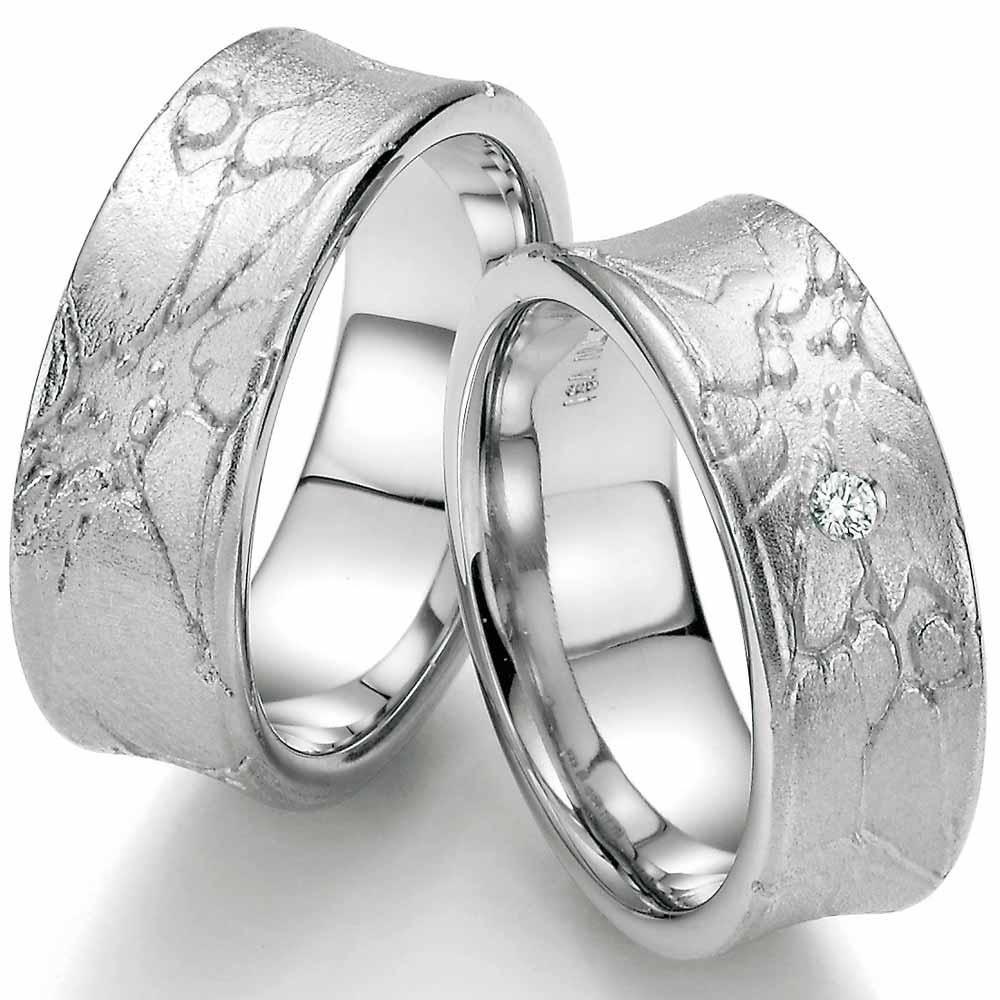 Pin Auf Eheringe Aus Silber Schlichte Eleganz