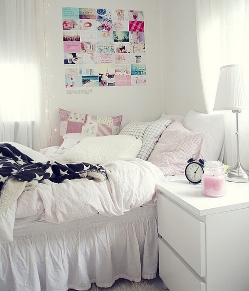 White I love this room but, I wouldn\u0027t have white sheets because I