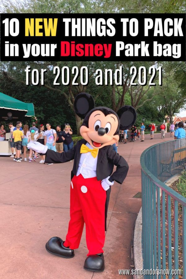 10 More Things to Buy for Your Disney World Park Bag in 2020 - Sand and Snow