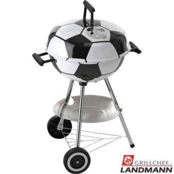 fussball kugelgrill grillchef by landmann 11329 starter set landmann pinterest grill. Black Bedroom Furniture Sets. Home Design Ideas