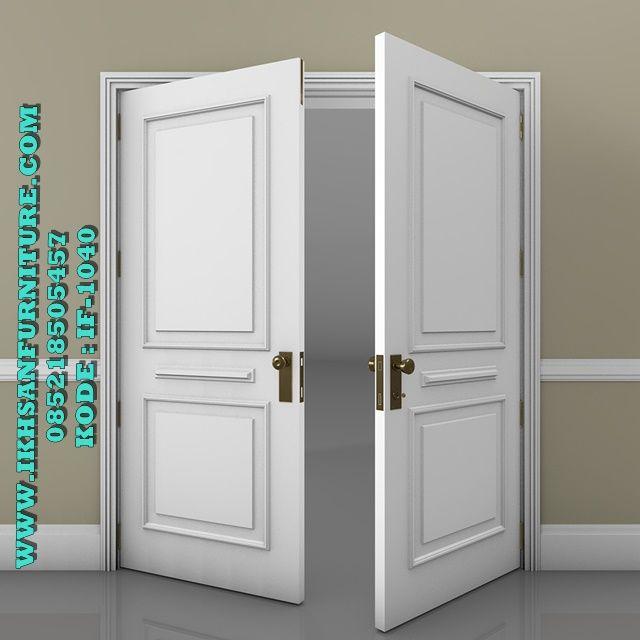 Pintu Kupu Kupu Minimalis Warna Putih Modern Klasik Pintu ...