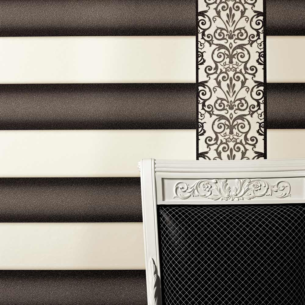 stunning versace wallpaper from eurowalls used in a hairdressing ... - Bubble Sofa Von Versace