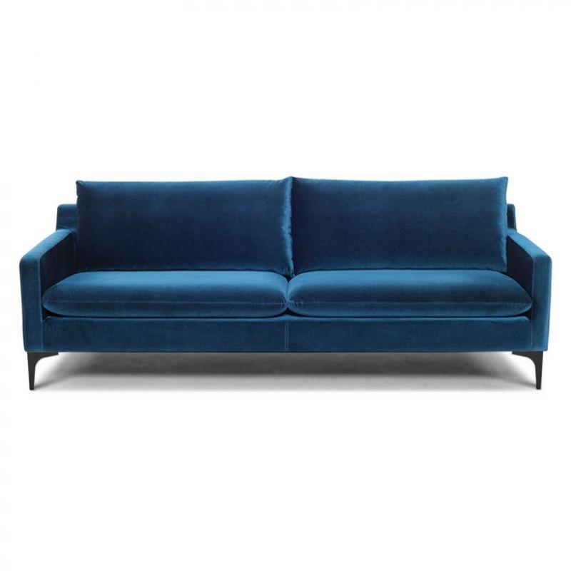 Velvet Velour Sofa Is A Rare Blend
