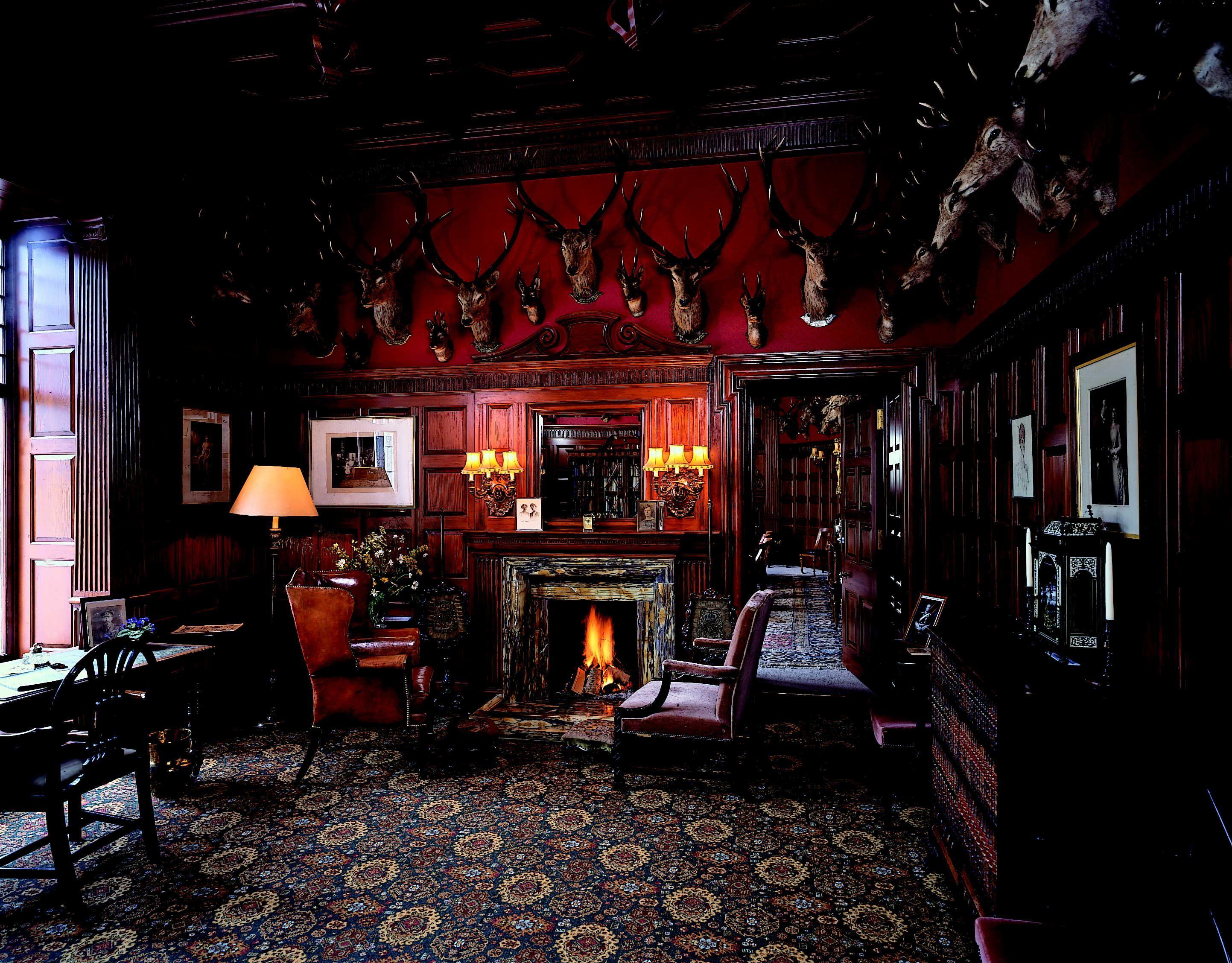 scottish castles interiors fivie castle | living rooms! sitting