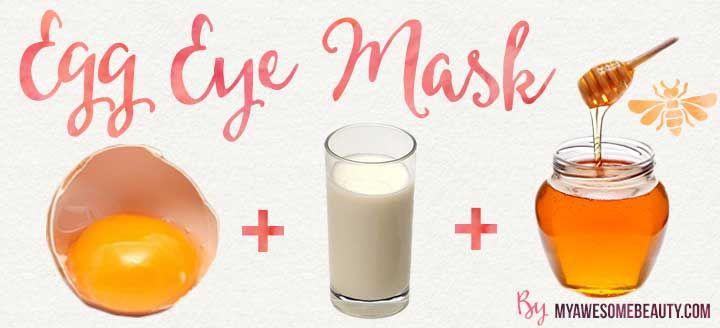 Homemade Eye Mask Undereye Care In 2019 Under Eye
