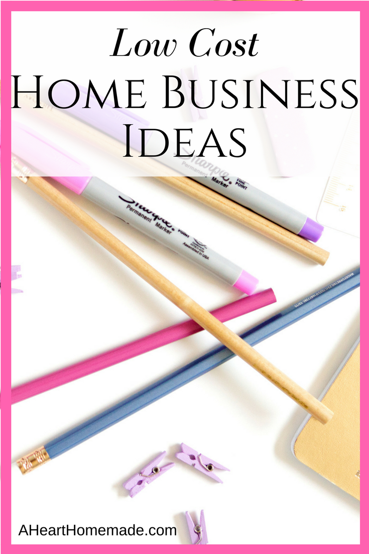 Home businesses can be expensive, but there are low cost home ...