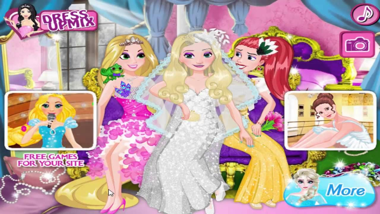 Frozen Dress up game Elsa Weeding Party | Best Frozen Games for Kids ...