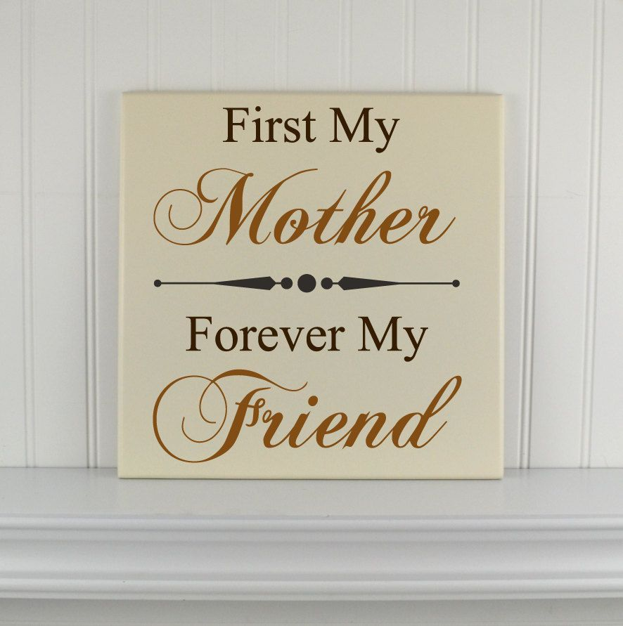 Love Quote Signs Mothers Day Gift  Personalized Quote Sign  Wood Plaque With Love