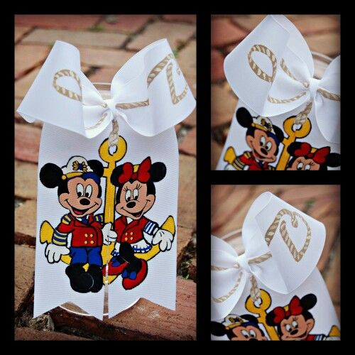 Disney Cruise Bow