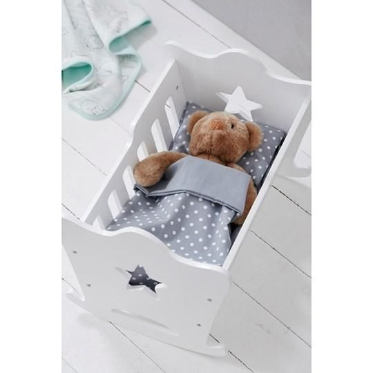 Kids Concept Doll Cradle Doll Cot Wooden Toy Crib Hipkids