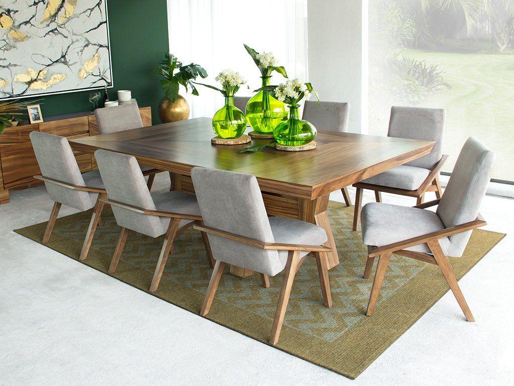 Set mesa de comedor + sillas milán - 2.4M x 1.2M + 8 sillas | HOME ...