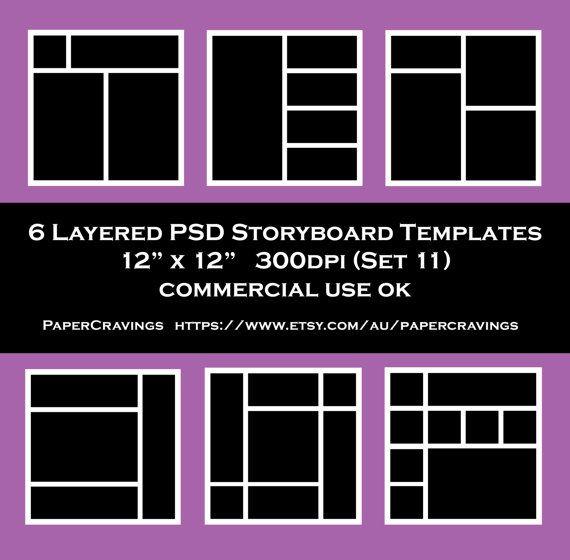 6 Website Storyboard Templates Doc Pdf Storyboard Template