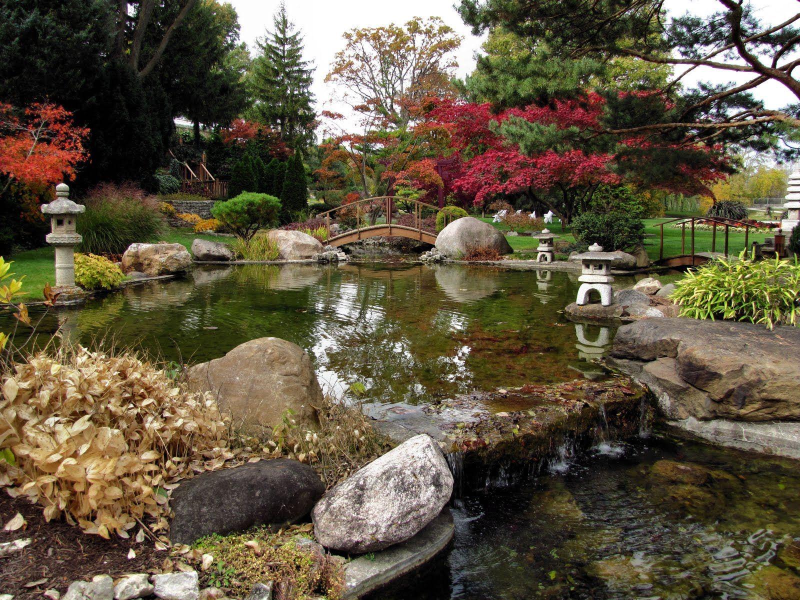 Japanese Water Garden | Japanese+water+garden,+autumn_4102.JPG