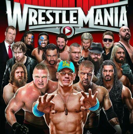 Wrestlemania Kane Jey & Jimmy USO Wade Barrett Dolph