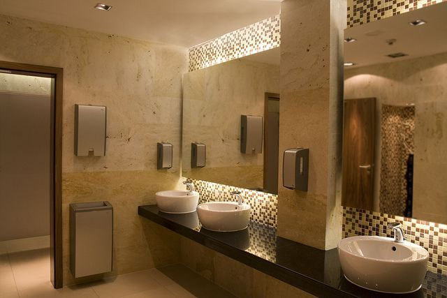 Contemporary public restroom google search medical for Modern washroom designs