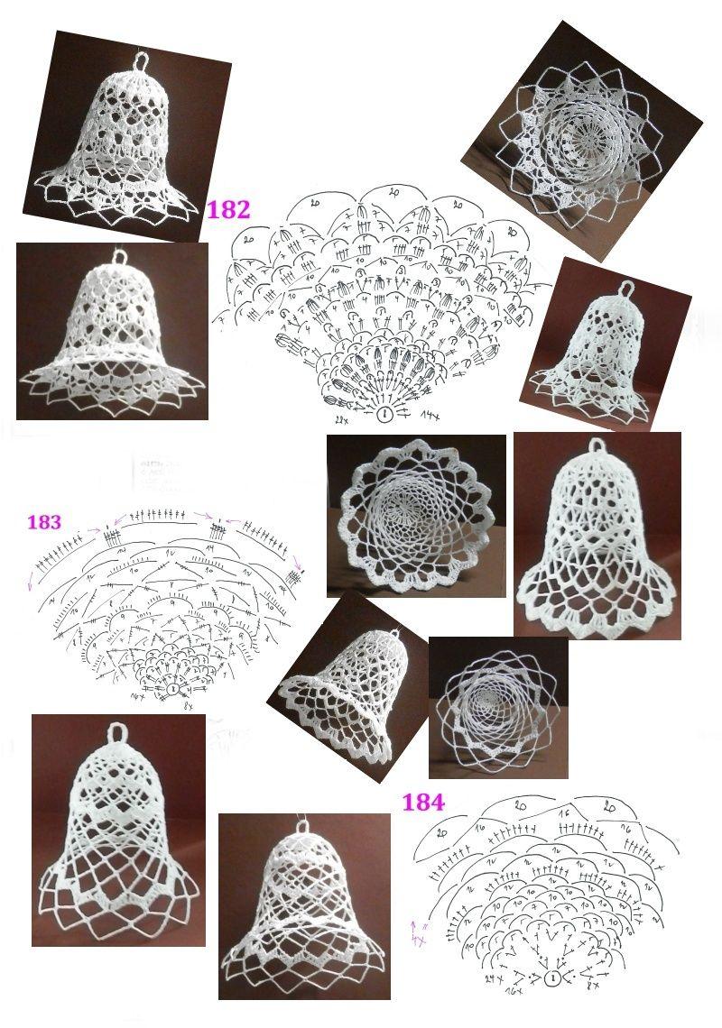 182 - 183 - 184 | Karácsonyfa díszek | Pinterest | Campanita ...