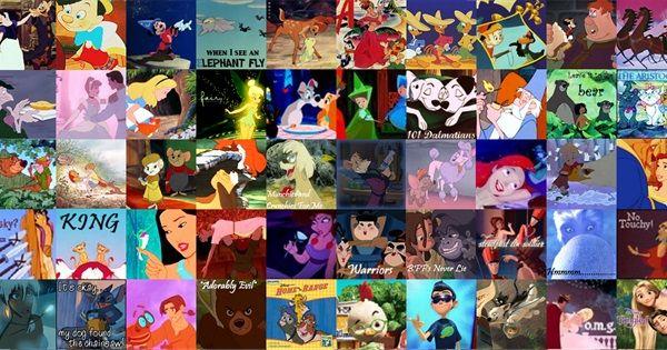 Animation Movies Stuff Every Disney Movie Walt Disney Animated